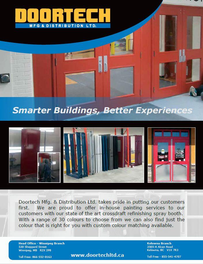Doortech Pre-Paint Information  sc 1 th 256 & Doortech Mfg \u0026 Distribution Ltd.